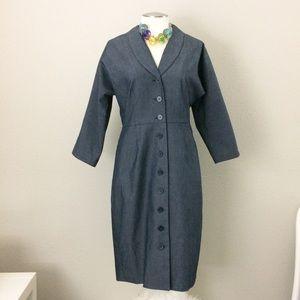 "Liz Claiborne ""Denim"" Dress"